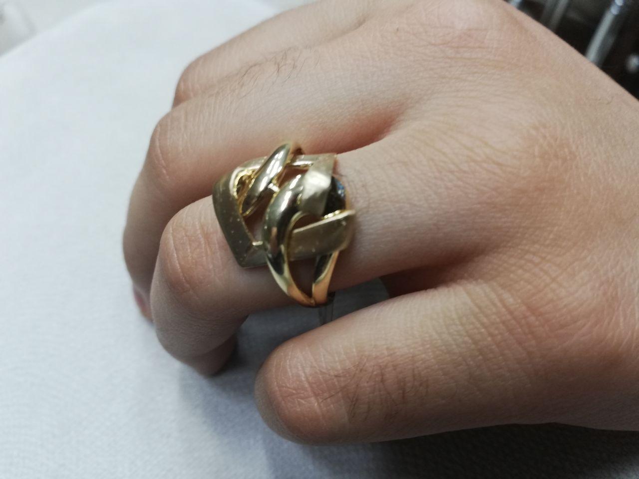 انگشتر طلا ساده