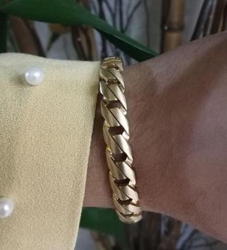 دستبند طلا ظریف دخترانه