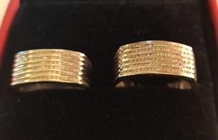 ست طلا پلاتین برلیان مردانه و زنانه