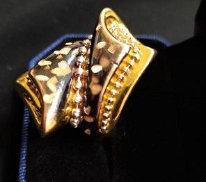 انگشتر طلا دست دوم ترک نمادار