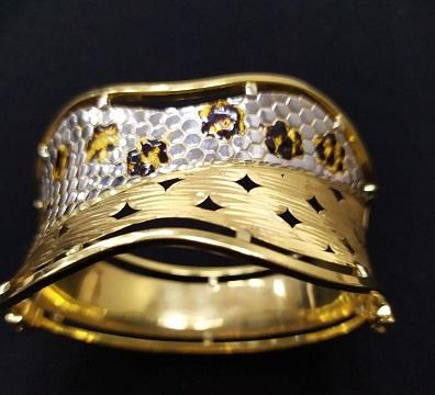 دستبند طلا دست دوم ترک،